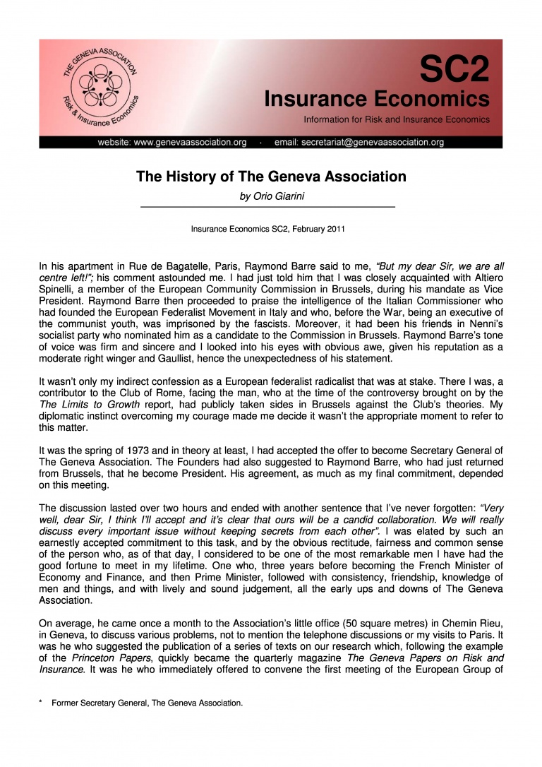 Publication document front page